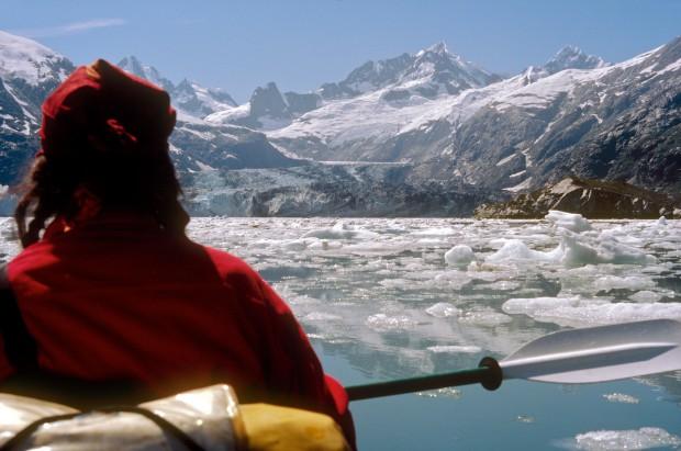 Die Kajaktour an die Abbruchkanten der riesigen Gezeitengletscher in der Glacierbay in Alaska war sicher eine meiner unvergesslichsten und eindrucksvollsten reisen überhaupt.