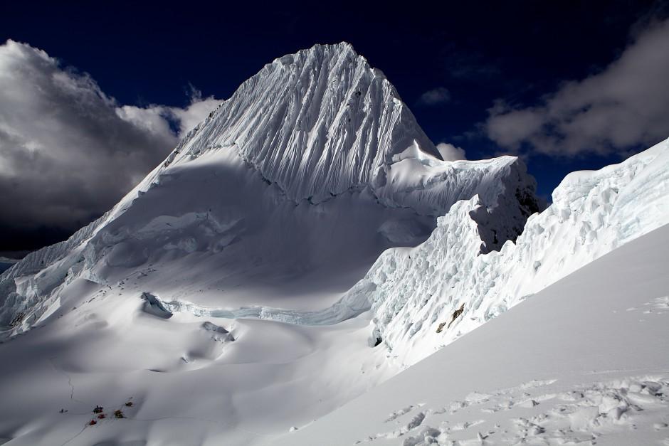 Alpamayo, 5947 m, Südwestwand