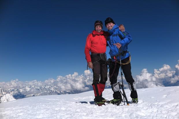 Mario und ich hatten am Mont Blanc tatsächlich das gefunden, was wir hier gesuchten: Eine begeisterndes Bergerlebnis an einem großartigen Gipfel.