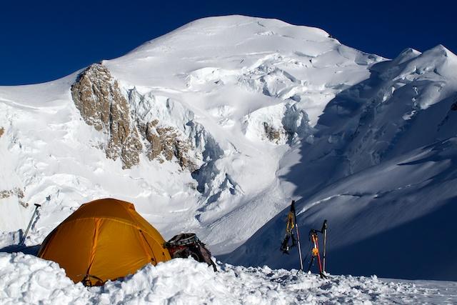 Gipfel und Biwak