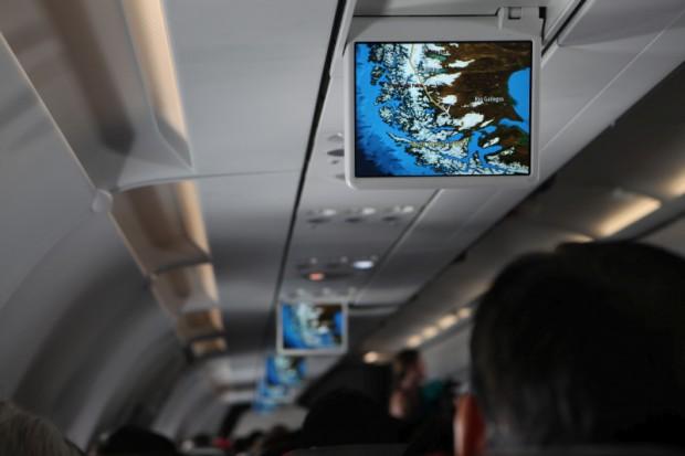 Der Anflug auf Punta Arenas war sicher der Höhepunkt unserer mehr als 20 Flugstunden.