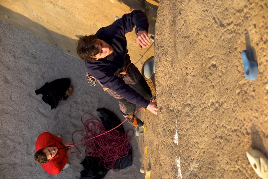 Bei unserem letzten Expeditionstreffen haben wir sechs Stunden am Rechner gesessen und diskutiert und waren zwei Stunden am K4 Klettern. Für uns regelrecht vorbildlich. Sonst war es immer umgekehrt!