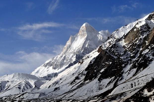 Der Shivling gilt als einer der formschönsten Gipfel der Erde. Leider besitze ich noch kein eigenes von ihm. (Foto: Wikipedia)