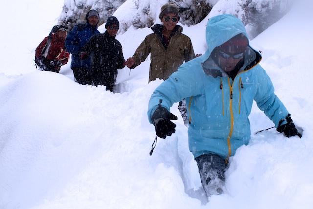 Spuren Sherpas