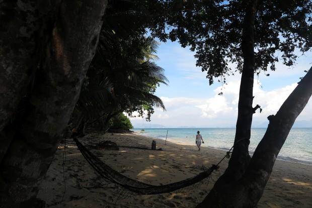 Auf Koh Yao Noi war es einfach, einen Bilderbuch-Strand auch mal ganz für sich zu haben.