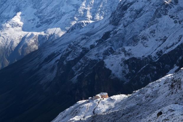 Ich kenne keine Hütte in den Alpen, die so komfortabel und sauber ist, wo so gutes und reichliches Essen geboten wird und wo es so gemütliche Schlafräume gibt.