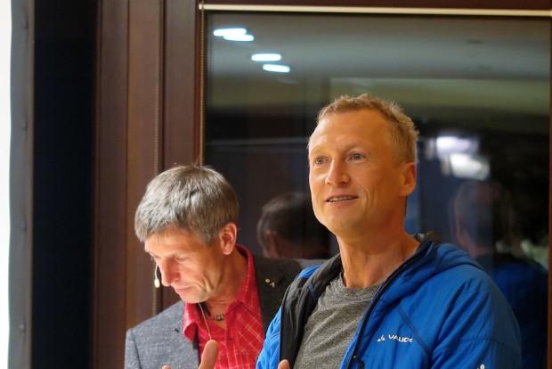 Bei Katjas Event tauchte dann zum Vortrag sogar mein Partner Falk auf, um anschließend mit mir gemeinsam dem Team der Projecter GmbH Rede und Antwort zu stehen.