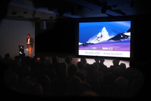 An diesem Abend im zeitgeschichtlichen Forum hat wirklich alles gestimmt: Technik, Ambiente, Atmosphäre und am besten war das gut aufgelegte Publikum.