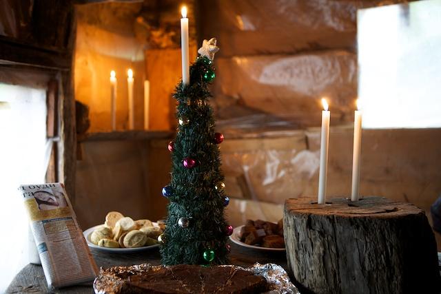 Weihnachten im Poincenot Camp am Fuße des Cerro Fitz Roy. Das zugigsten, besinnlichste und einprägsamste meines Lebens