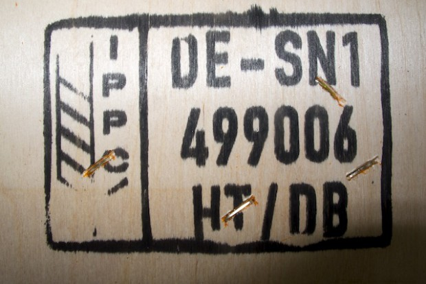 Das ist das wichtigste Bild dieser news. Die Zertifizierung von Holz und Verpackungsfirma. Ohne diese Kennzeichnung keine Kajaktour zum Monte Sarmiento.