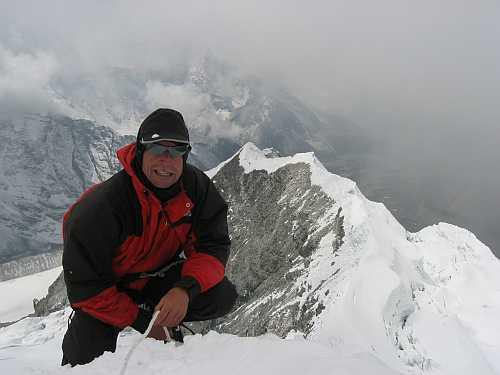 Am Gipfel des Island Peak
