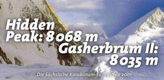 Hidden Peak und Gasherbrum