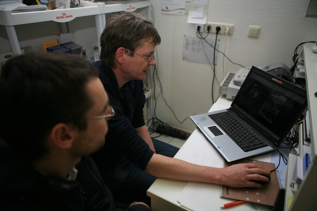 Die beiden Webmaster in der Praxis von Uwe Gille